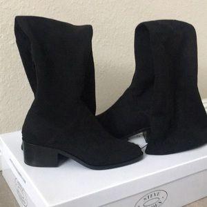 Steve Madden Knee High Gabbie Black boots 👢